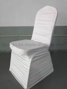 china white color spandex chair cover for tiffany chair used