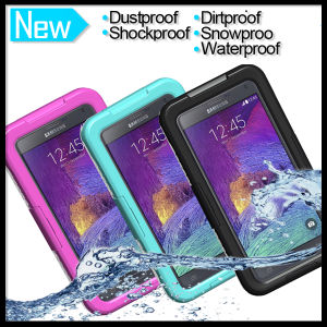 buy popular c2b62 fe053 Waterproof Shockproof Dirtproof Protective Cover Case Skin for Samsung  Galaxy Note 2 3 4
