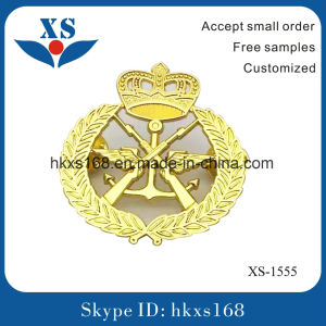 Gold Plating Custom Metal Medal