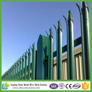 PVC Coated Palisade Fence /Steel Palisade Fence / Palisade Security Fence