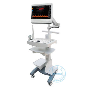 Veterinary Trolley Color Doppler Ultrasound System (DopScan C100V) pictures & photos