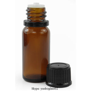 15ml Amber Essential Oil Glass Bottle with Tamper Proof Cap