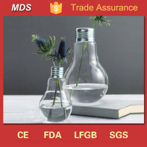 Wedding Table Centerpieces Light Bulb Vase Glass for Flowers pictures & photos