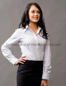 Popular Quality&Style Women Business Shirts (WSH03) pictures & photos