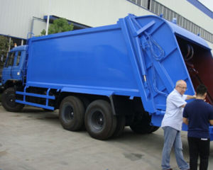 Donfeng 6X4 18m3 Compressed Garbage Truck pictures & photos