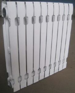 576X82X60mm White Aluminium Style Cast Iron Radiator