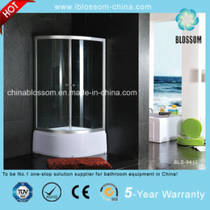 Sliding Door 5mm Transparent Glass Shower Enclosure (BLS-9417) pictures & photos