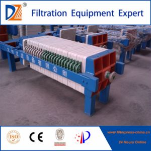 Dazhang Manual Jack Screw Sludge Dewatering Filter Press pictures & photos
