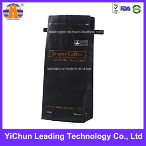 Coffee Bean Plastic Packaging Bag Pouch (with tie line)