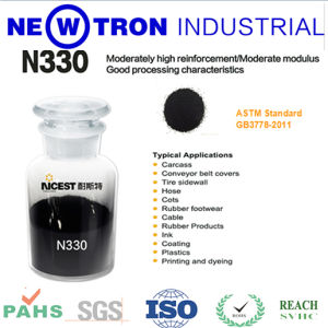 China Manufacturer Wet Process Granule Carbon Black N330 for Tyre, Rubber