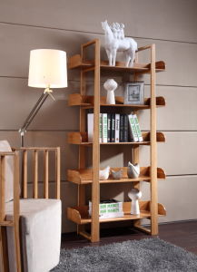 5 Layers Bamboo Book Shelf / Bamboo Display Rack pictures & photos