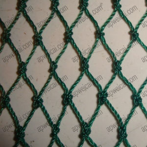 Knotted Nylon Netting (50mm mesh, green color) pictures & photos