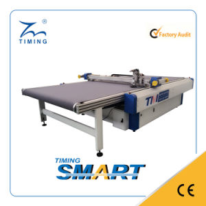 Single Ply Knife Cutting Machine with Conveyor Table