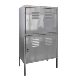 Metal Cabinet-Silver