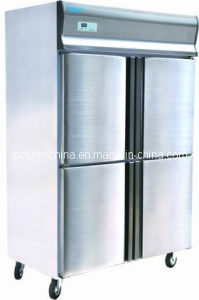 Double Temp Stainless Steel Freezer (GD1.0L4T)