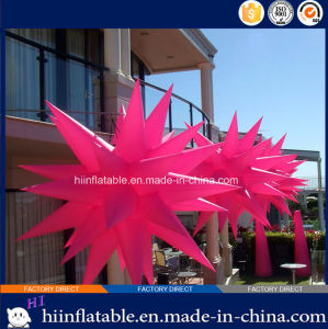 2015 Hot Selling LED Lighting Home Ceiling Decoration Inflatable Star 025