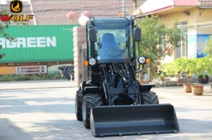 Mini Loader 0.8ton Wheel Loader Zl08 for Sale pictures & photos