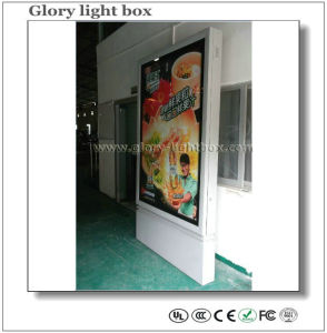 Vertical Roll up Poster Frame LED Light Box Advertising pictures & photos