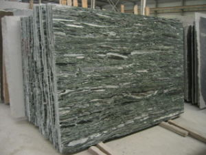 Sea Green Ocean Green Granite Tile, Slabs