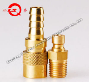 Lsq-Q1 Mould Quick Coupling (SMALL) (BRASS) pictures & photos