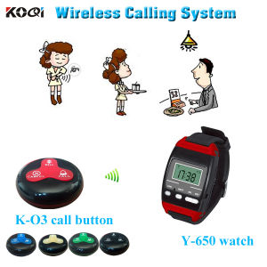 Watch Wrist Pager System for Waiter Customer Use Y-650+O3 pictures & photos