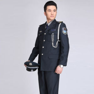 Design Security Guard Uniform Coat Jacket pictures & photos