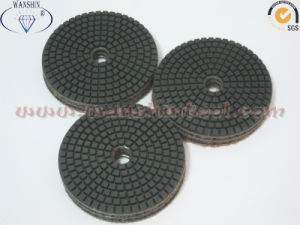 4′′ Flexible Wet Polishing Pads Diamond Tool pictures & photos