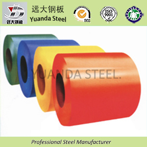 Prepainted Galvanized Steel Coils for Building