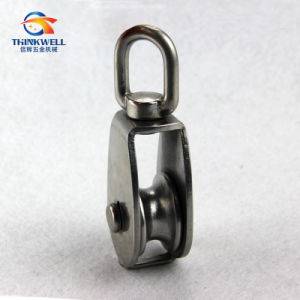 2016 Stainless Single Sheave Eye Swivel Block Pulleys pictures & photos