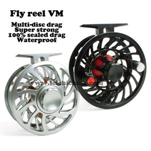 Waterproof Multi-Disc Drag Saltwater Fly Fishing Reel pictures & photos