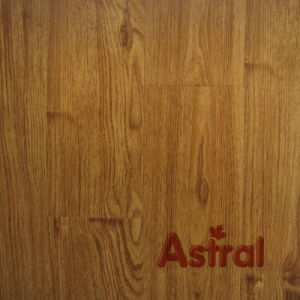 Handscraped Grain Surface (U-Groove) Laminate Flooring (9102) pictures & photos