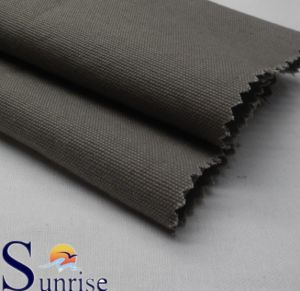 100% Cotton Canvas Fabric Wax Coating+Enzyme Washing+Softness (SRSC 428)