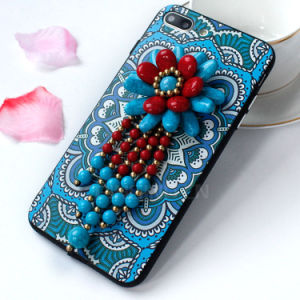 Folk Assorted Flowers 3D Phone Cover for iPhone 7plus pictures & photos