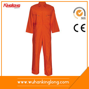 Kinglong 100% Cotton Proban Men Fire Resisting Workwear Coveralls