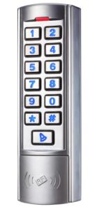 New Silver Metal Vandal-Proof Door Access Control pictures & photos