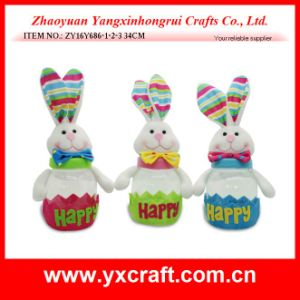 Easter Decoration (ZY16Y686-1-2-3) Storage Jar Home Use Big Jar pictures & photos