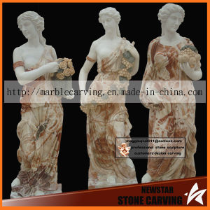 Marble Sculpture, Stone Statue Marble 4 Season God Nss030 pictures & photos