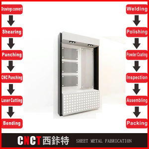 China Popular Supplier Stainless Steel 304 Display Boards Shelf pictures & photos