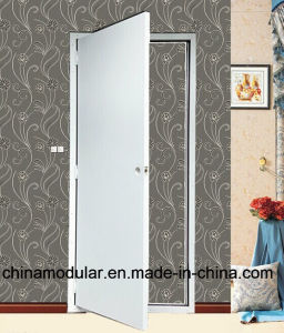 Prehung Metal Door for Flat Pack and Container House (CHAM-TD01) pictures & photos