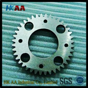 SUS304 Precision Spur Gears with Oxide Treatment and Harden Teeth Treatment pictures & photos