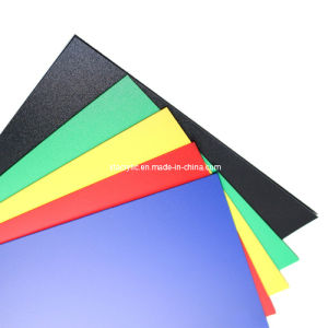 Colored Plastic Sheet for Acrylic Crib