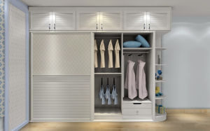 Wood Color Fashion Modern Wardrobe (zy-018) pictures & photos