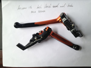 Disc Cover CNC Brake Lever