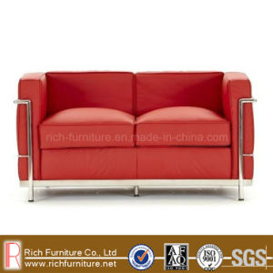 Genuine Leather Stainless Frame LC3 Commercial Sofa pictures & photos