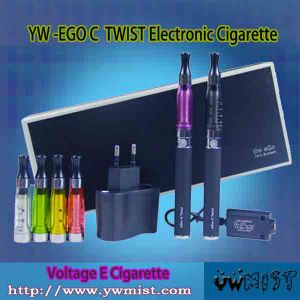 Variable Voltage EGO-C Twist Electronic Cigarette