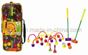 "Colorful Baby Toys - 23""Croquet Set"