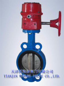 Butterfly Valves with Tamper Switch (D971X-10/16)