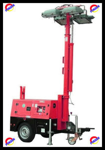 Mobile Diesel Generator Light Tower (POK10LT)
