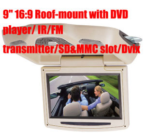 "9"" 16: 9 Revolving Roof-mount with DVD Player (LTM-R901)"