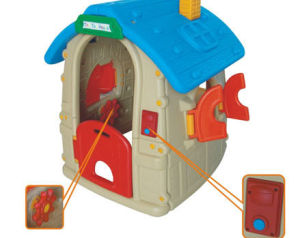 Lastest Children Indoor Playground Equipment Playhouse (2011-151B) pictures & photos